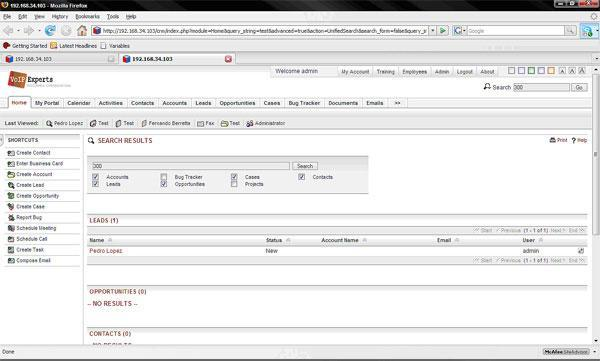 vx400-sugarCRM-integration
